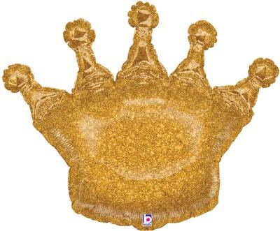 Glittering Crown Shape Foil