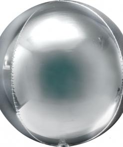 Silver Orbz - 16 inch