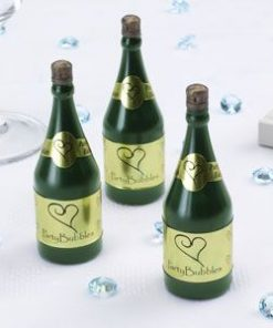Champagne Bottle Party Bubbles
