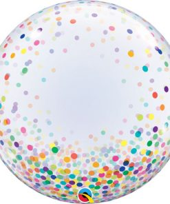 Deco Bubble Colourful Confetti Dots