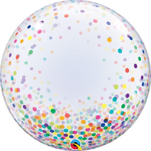 Deco Bubble Colourful Confetti Dots