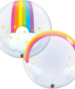 Deco Bubble Rainbow Clouds