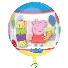 "15"" Peppa Pig Orbz Clear Foil"