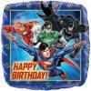 Justice League Birthday Square Foil