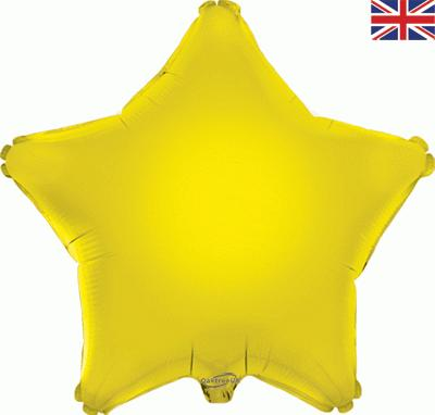 Yellow Star Foil