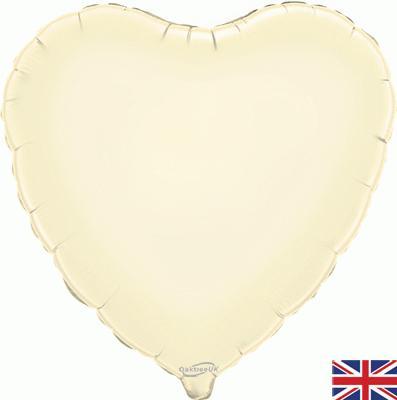 Heart Foil Ivory