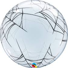 Deco Bubble Spiders Web