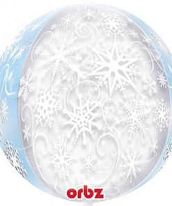 Frozen Snowflakes Clear Orbz