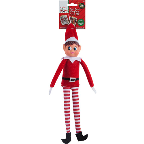 Long Leg Red Girl Elf Figure