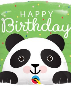 Birthday Panda Square Foil