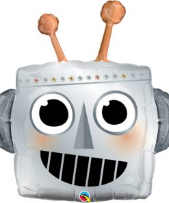 Robot Head Shape Foil