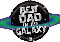 Galactic Dad Holographic Shape Foil