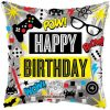 Birthday Video Games Foil