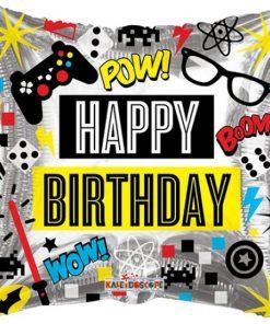 Birthday Video Games Foil