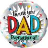 Thank You Dad for Everything Foil