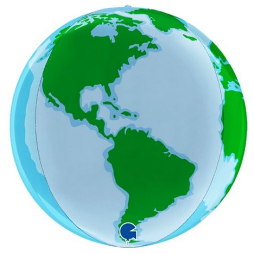 Globe Earth Foil