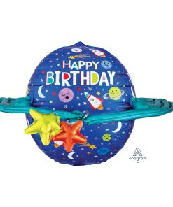 Ultrashape Happy Birthday Galaxy Foil