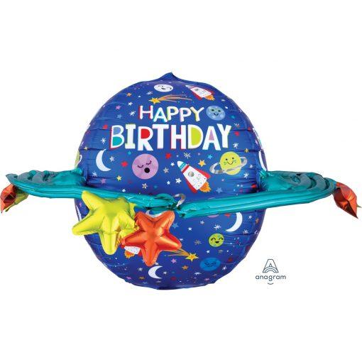 Ultrashape Happy Birthday Galaxy Foil