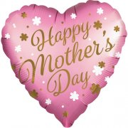Mother's Day Pink Satin Foil