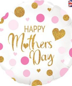 Oaktree 18inch Pink Confetti Mothers Day Holographic