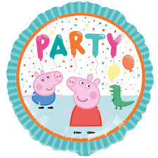 Peppa Pig Party Foil