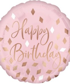 Blush Birthday Foil