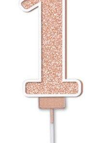 Oaktree Sparkling Fizz No.1 Candle 7.5cm Rose Gold