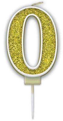 Oaktree Sparkling Fizz No.0 Candle 7.5cm Gold