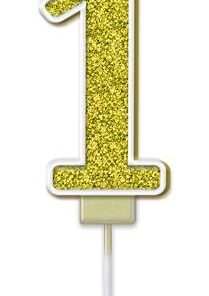 Oaktree Sparkling Fizz No.1 Candle 7.5cm Gold