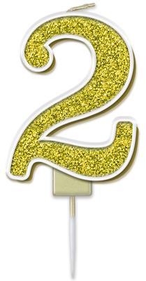 Oaktree Sparkling Fizz No.2 Candle 7.5cm Gold