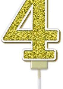 Oaktree Sparkling Fizz No.4 Candle 7.5cm Gold