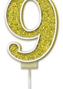 Oaktree Sparkling Fizz No.9 Candle 7.5cm Gold