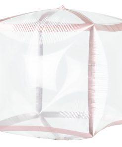 Rose Gold Trim Cubez Foil