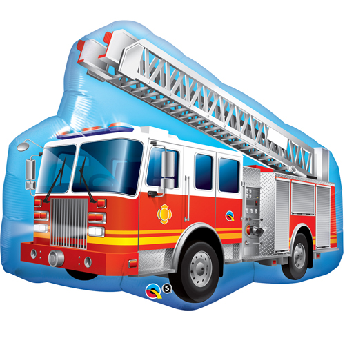 Red Fire Engine Foil