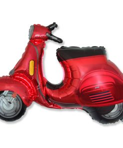 Red Scooter Foil