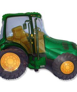 Green Tractor Shape Foil