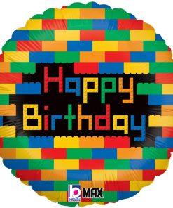 Birthday Blocks Foil