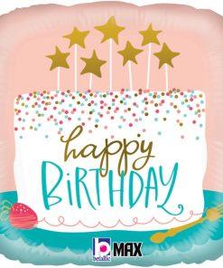 Birthday Confetti Cake Foil