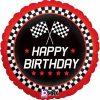 Checkered Flag Birthday Foil